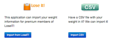 Great Importing Features For Weight Graphing